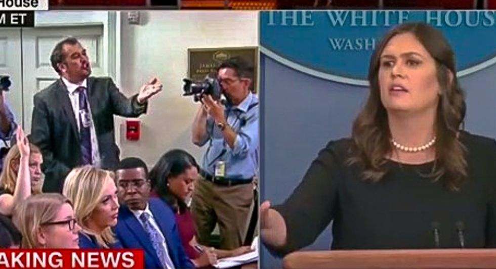 Sarah Sanders gets shamed on live TV over separating families: 'You're a parent... don't you have any empathy?'