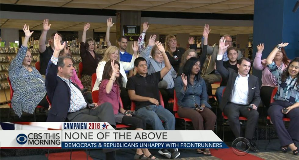 'This election is gone': Focus group finds angry voters are now angry at the angry voters