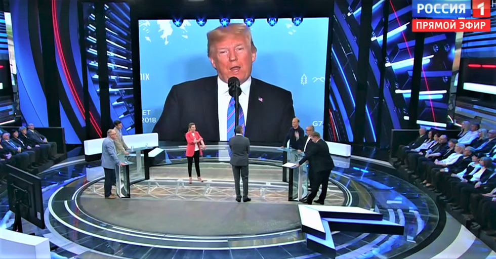 Russian state media freaks out about the prospect of a Democratic Congress: 'The fate of Trump is at stake'