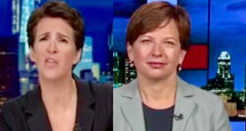 Maddow guest explains how NY lawsuit against Trump Foundation is a backdoor for the IRS to nab him for tax evasion