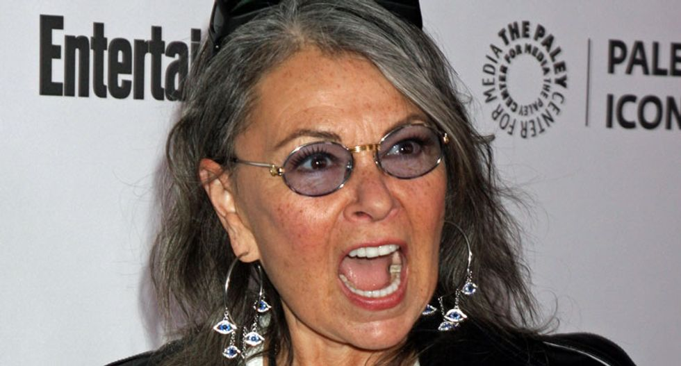 Roseanne Barr has overnight 'MAGA MAGA MAGA' Twitter meltdown after reading IG report she believes helps Trump