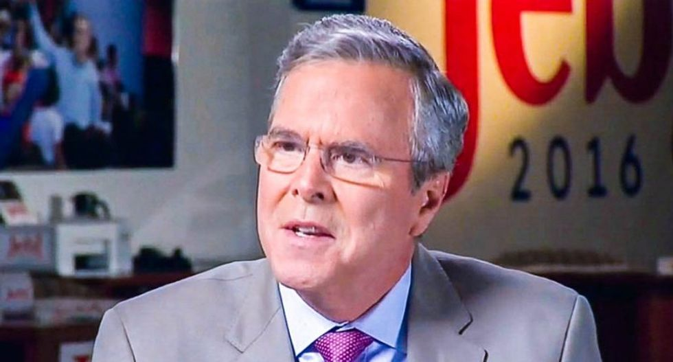 Jeb Bush wonders why Republicans are not 'stepping up' to condemn racism