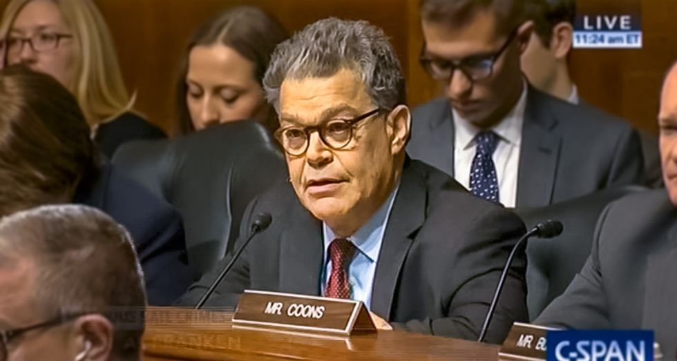 Al Franken resigns after sexual misconduct allegations pile up