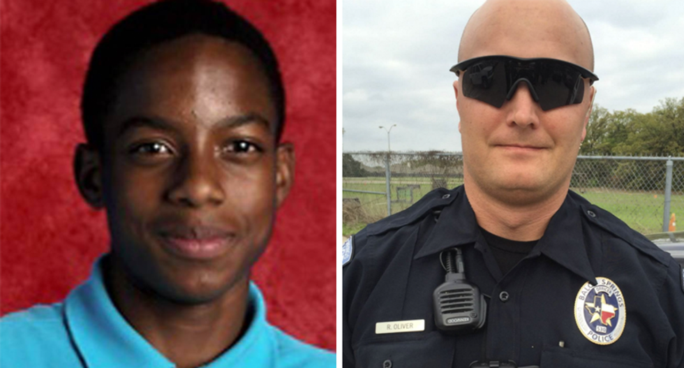 Police officer charged with murder for killing 15-year-old near Dallas: report
