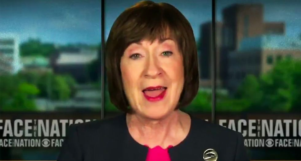 Senator Susan Collins will not back anti-abortion Supreme Court nominee