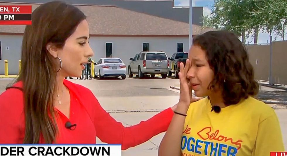 Heartbreaking: Nicaraguan-American girl left in tears on Father's Day over thought of losing her undocumented dad