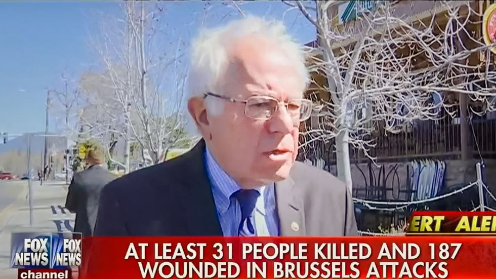 Bernie Sanders rejects Trump-Cruz xenophobia: Targeting Muslims is 'unconstitutional' and 'wrong'