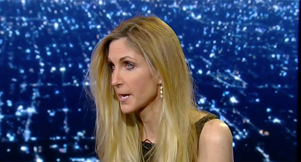'We need to disband the entire Republican Party': Ann Coulter flattens her own party