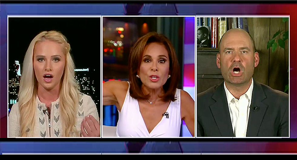 Tomi Lahren and Judge Pirro go off the deep end when Dem radio host quotes Bible about 'doing unto others'