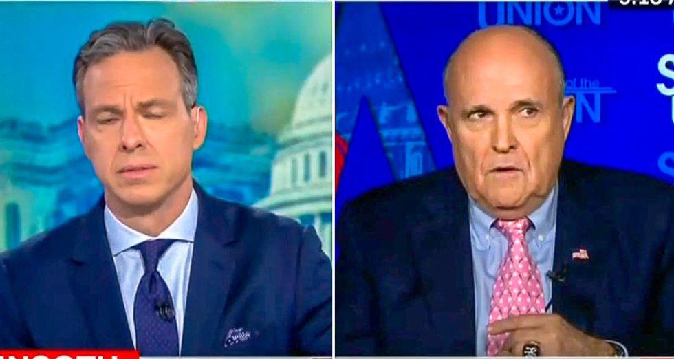 Giuliani falls apart defending Trump's Russia meeting lies: Lying 'breaks one of the Commandments -- I think'