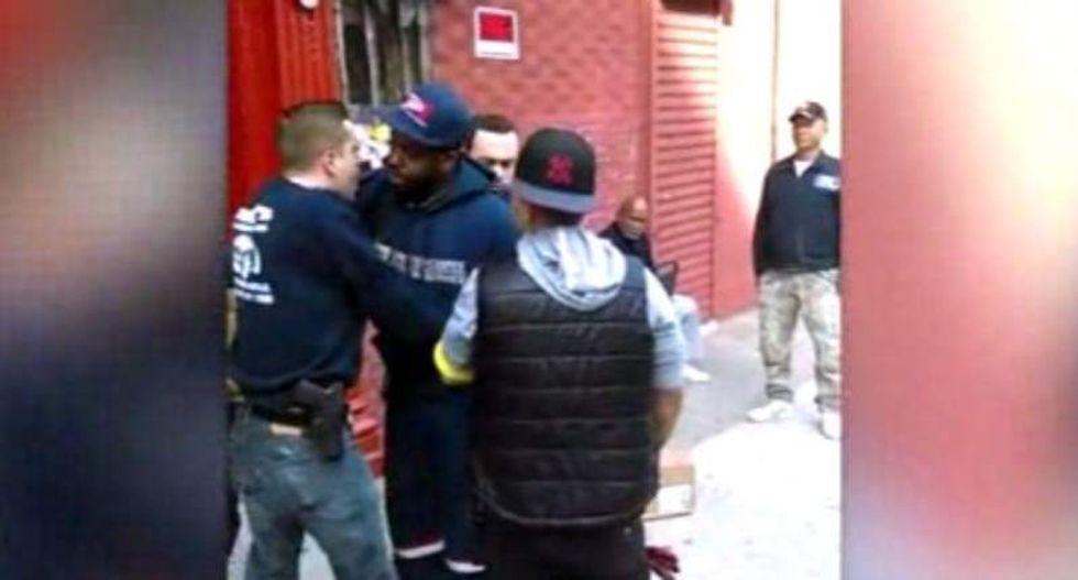 NYPD cop secretly records supervisor pressuring him to racially profile black men