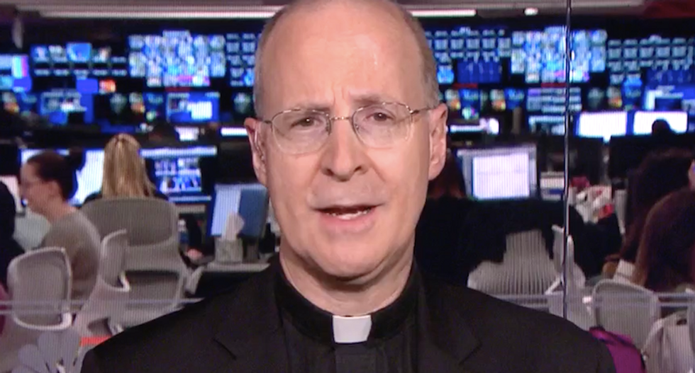 Priest denounces Trump's 'evil' immigration policy: 'It's insane to use the Bible to justify sin'