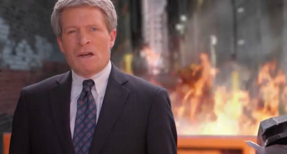 Senate candidate Richard Painter pledges to put out Trump's 'dumpster fire' in eye-popping campaign ad