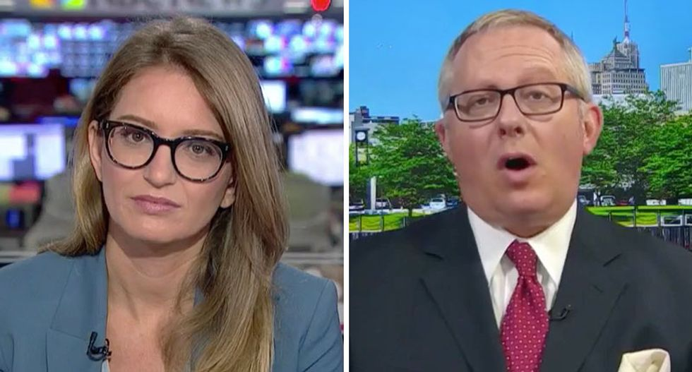 MSNBC's Katy Tur grills ex-Trump aide Michael Caputo for his lies about Russia contacts