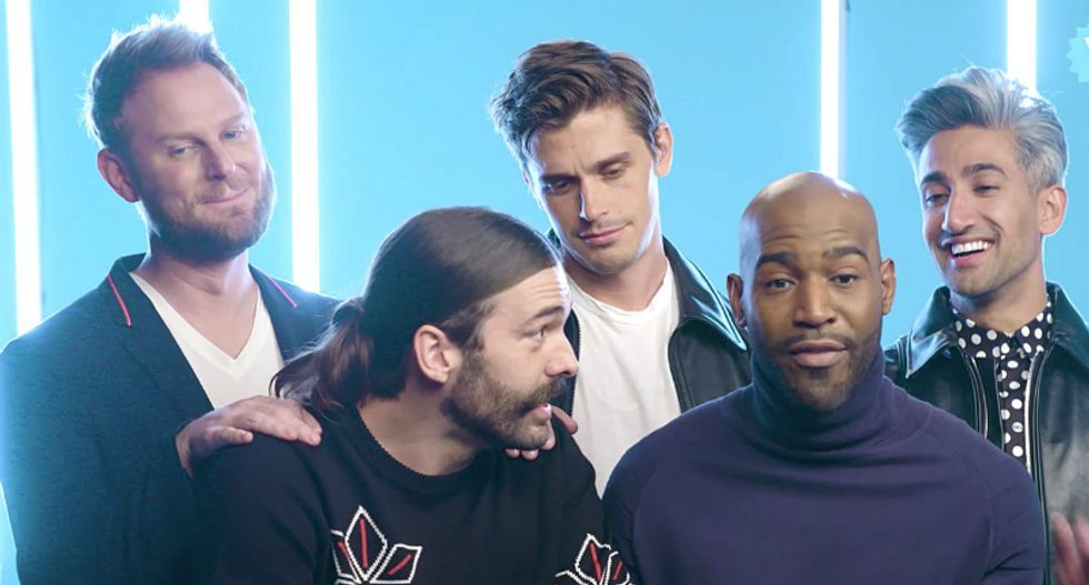 'Queer Eye' star met with Mike Pence's wife at the White House — and one of his castmates 'freaked out'