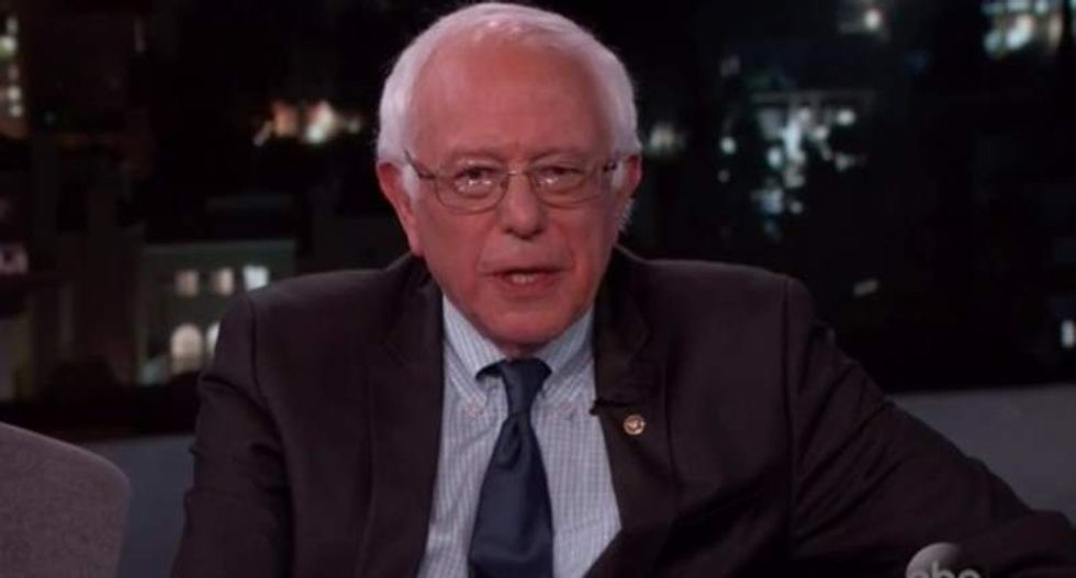 Bernie Sanders: We can't let 'Trumps of the world' use Brussels attack to excuse Islamophobia