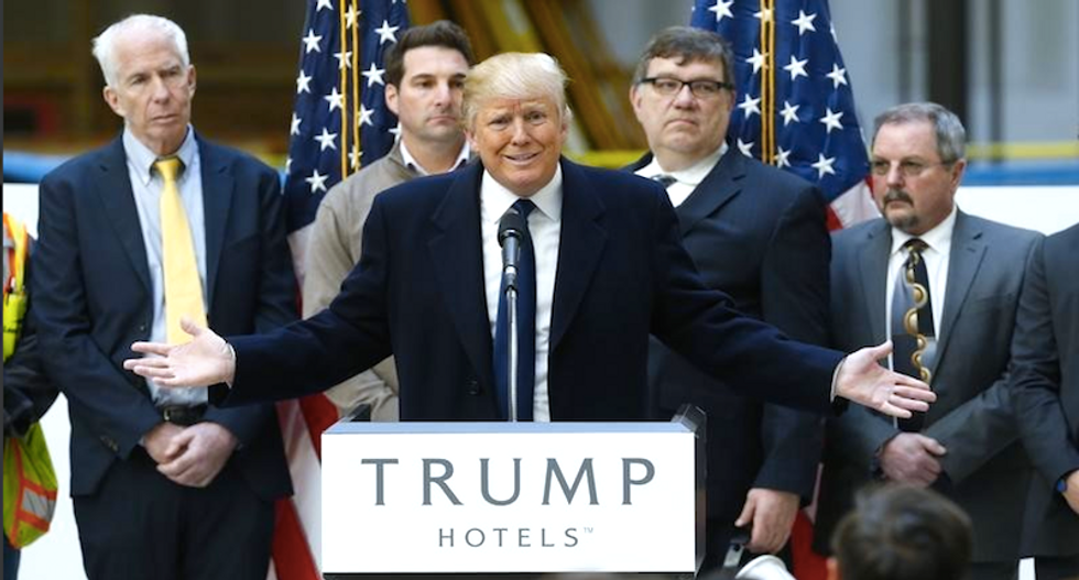 Trump Hotels made millions off Republican campaigns during midterms: report