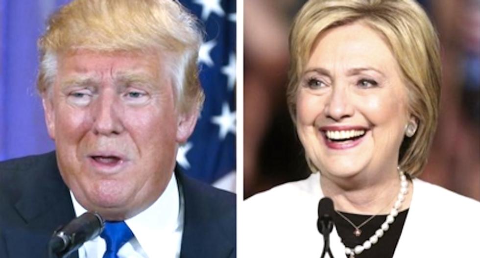 Clinton, Trump clash over Orlando massacre