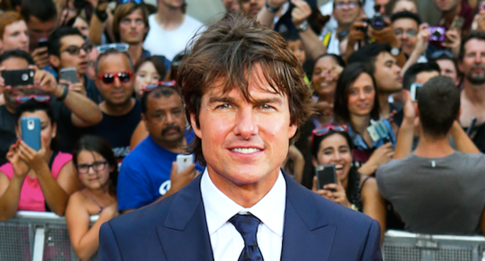 Scientology boss furious after Daily Mail reports on his Tom Cruise 'bromance' and secret videos