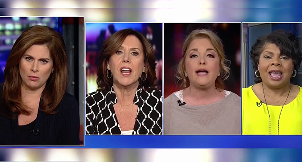 CNN panel goes off the rails when Women for Trump chair responds to separated families saying 'I cried leaving my dog last night'