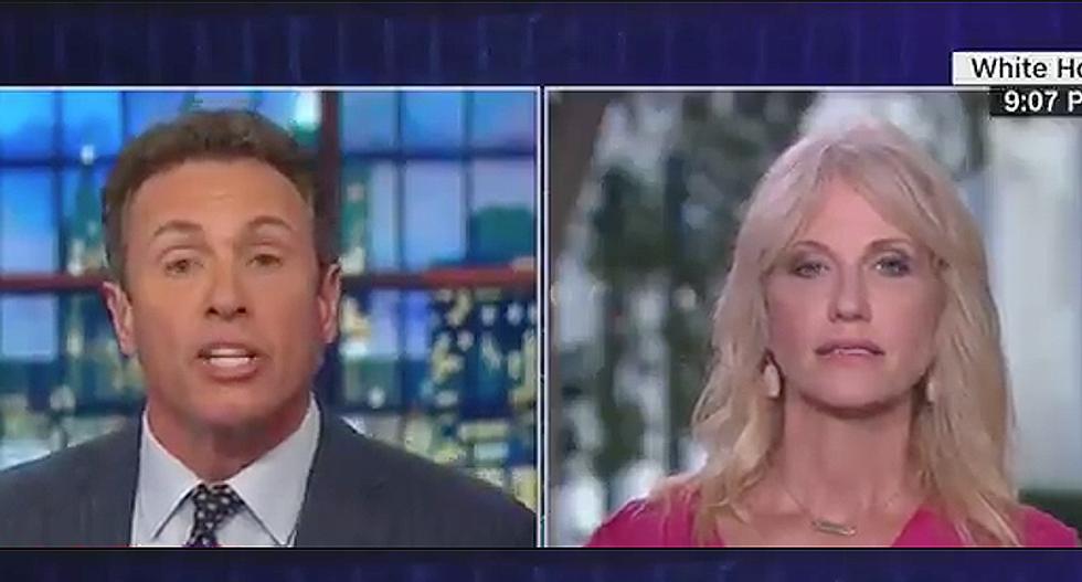 Kellyanne Conway erupts after CNN's Chris Cuomo plays gut-wrenching audio of immigrant kids taken from parents