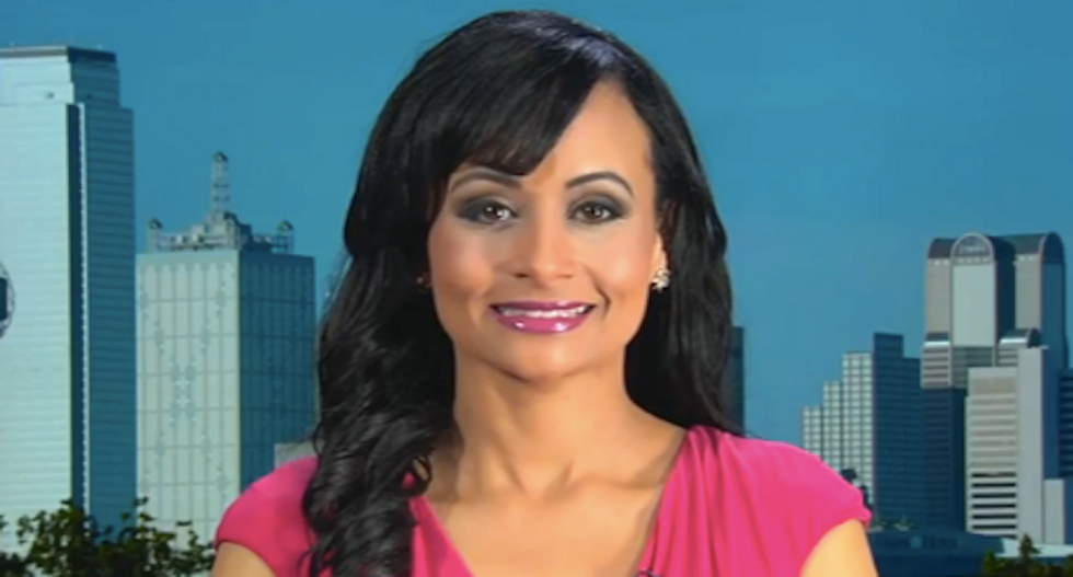 WATCH: Trump spokeswoman fulfills threat to 'spill the beans' on Cruz's wife -- and it's a total flop