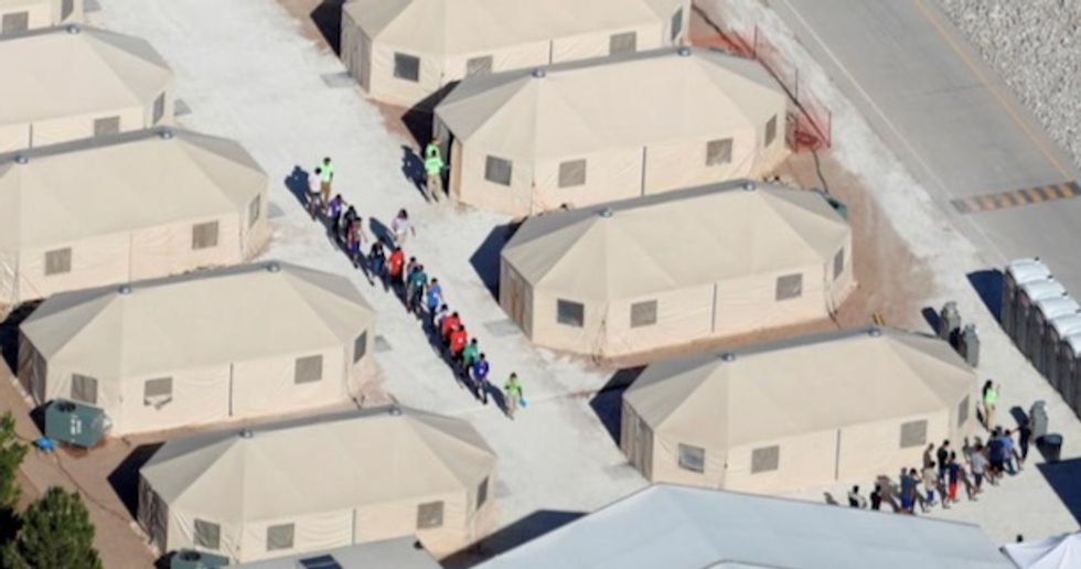White House defends immigration policy as outrage grows over children