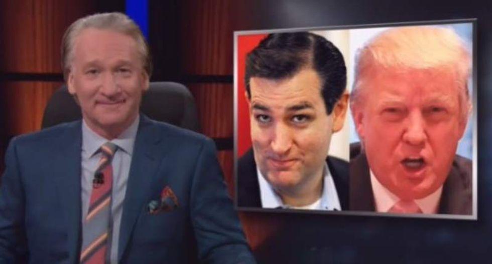 Bill Maher: Cruz vs. Trump has Repubs stuck between 'House of A*shole' or 'House of Douchebag'