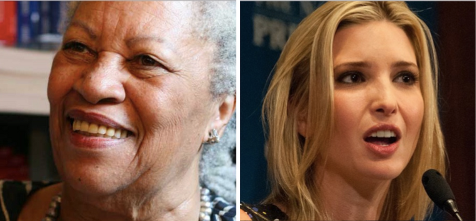 Ivanka Trump used Toni Morrison quote to compare herself to a slave in new book