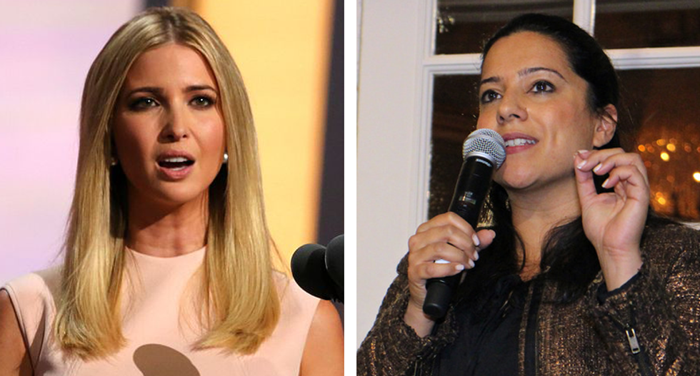 'Don't use my story': Girls Who Code founder Reshma Saujani blisters 'complicit' Ivanka Trump over father's agenda