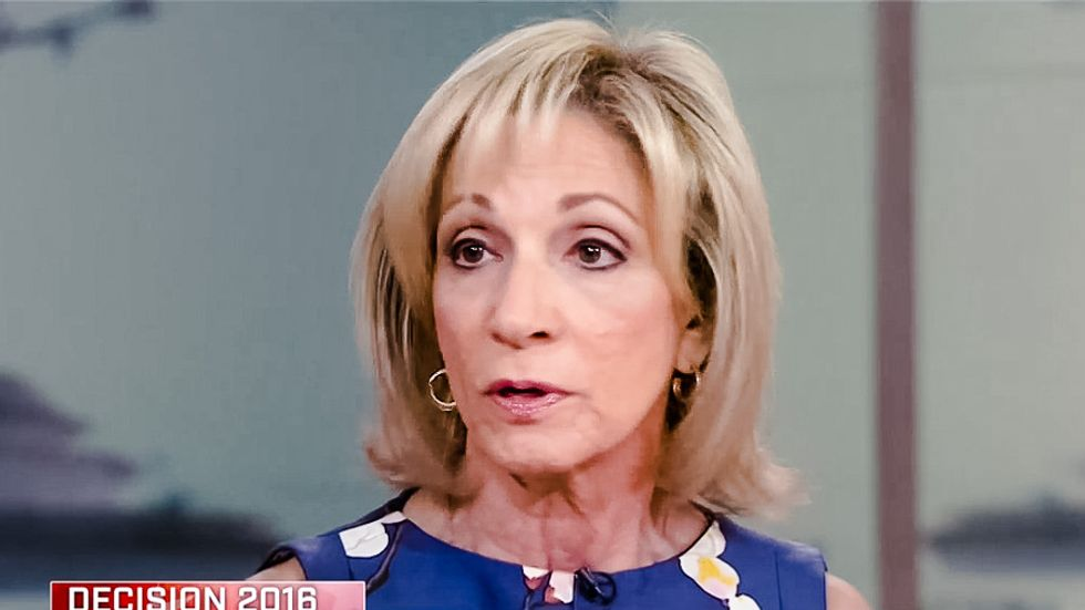 Andrea Mitchell rips Trump's foreign policy scam: 'He's uneducated about any part of the world'