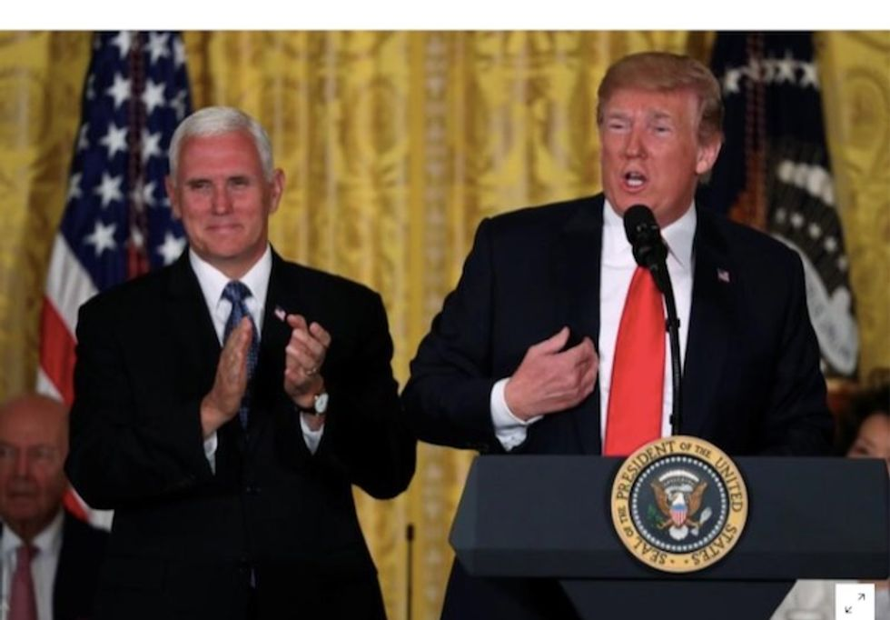 White House to press forward with Trump's Space Command