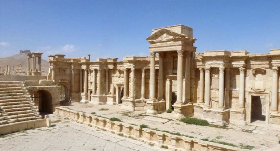 Syria's antiquities chief: Palmyra can be restored 'in five years'