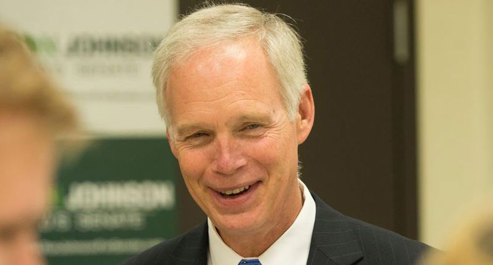 GOP Sen. Ron Johnson says campaigning with Trump would be good for him: 'The Ronald and The Donald'