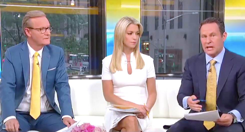 Fox & Friends hosts beg Trump not to commit more crimes during impeachment hearings: 'Don't tweet about it!'