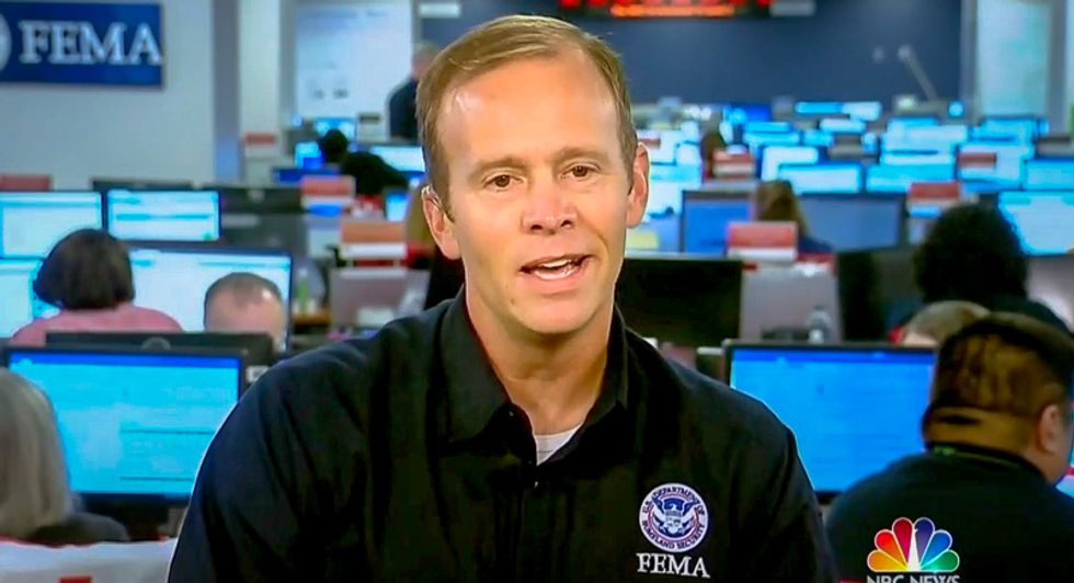 FEMA director blames Puerto Rico 'spousal abuse' -- but defends Trump -- after 3,000 people die due to hurricane