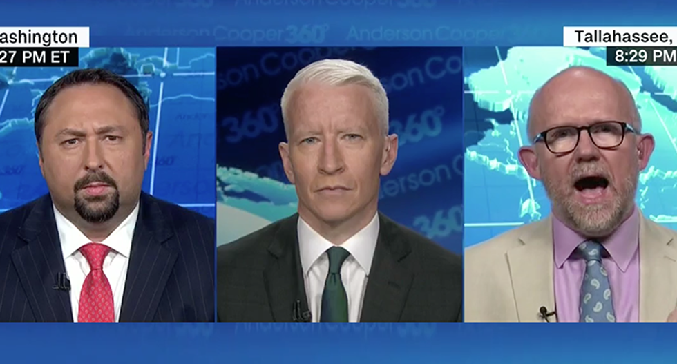 Rick Wilson flattens Trump aide Jason Miller blasting Trump's 'blackmail play' for 'mouth breathers and morons in the base'