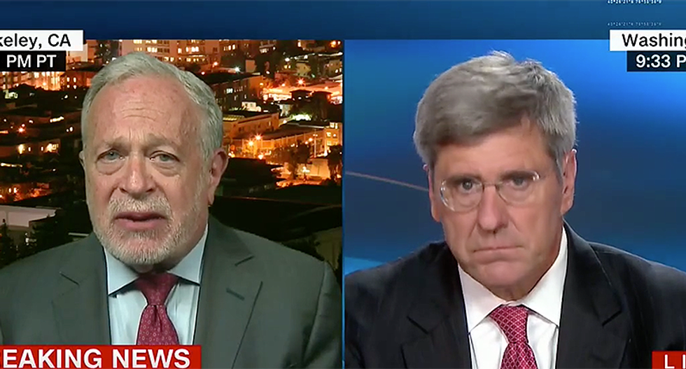 WATCH: Robert Reich destroys pro-Trump economist for lying about tax cuts 'benefits' to the middle class
