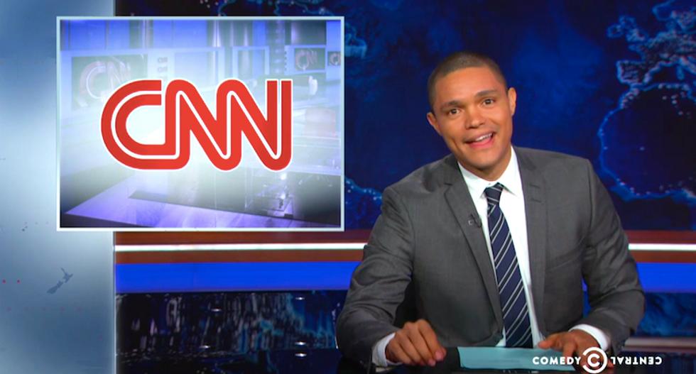 Trevor Noah ridicules CNN 'amateurs' for trying to goad Joe Biden into Democratic debate