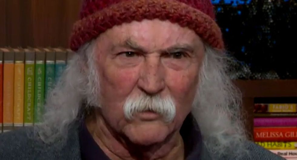 Watch rock legend David Crosby's hilarious takedown of Kanye West and The Doors