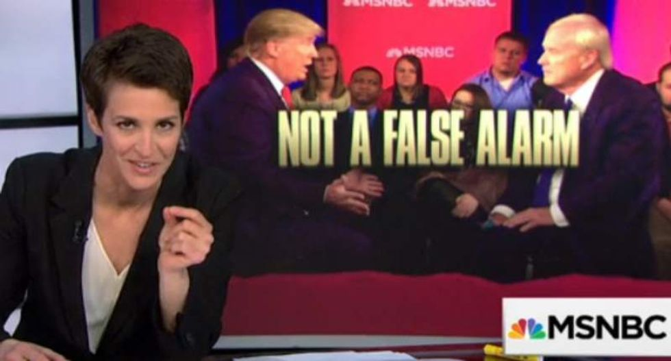 Maddow rips the media: It's 'a farce' to act like Cruz is more reasonable on abortion than Trump