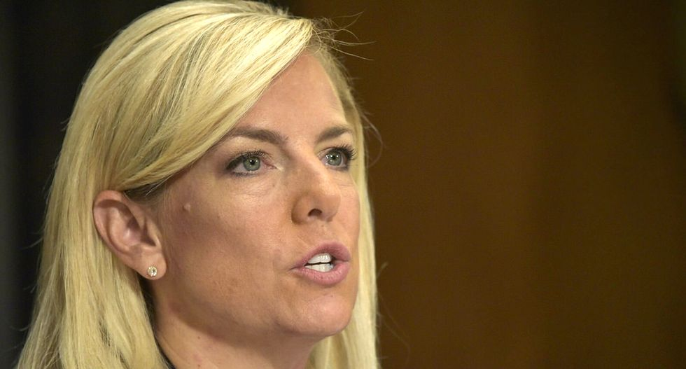 WATCH: DHS secretary Kirstjen Nielsen refuses to condemn white supremacist violence in Charlottesville