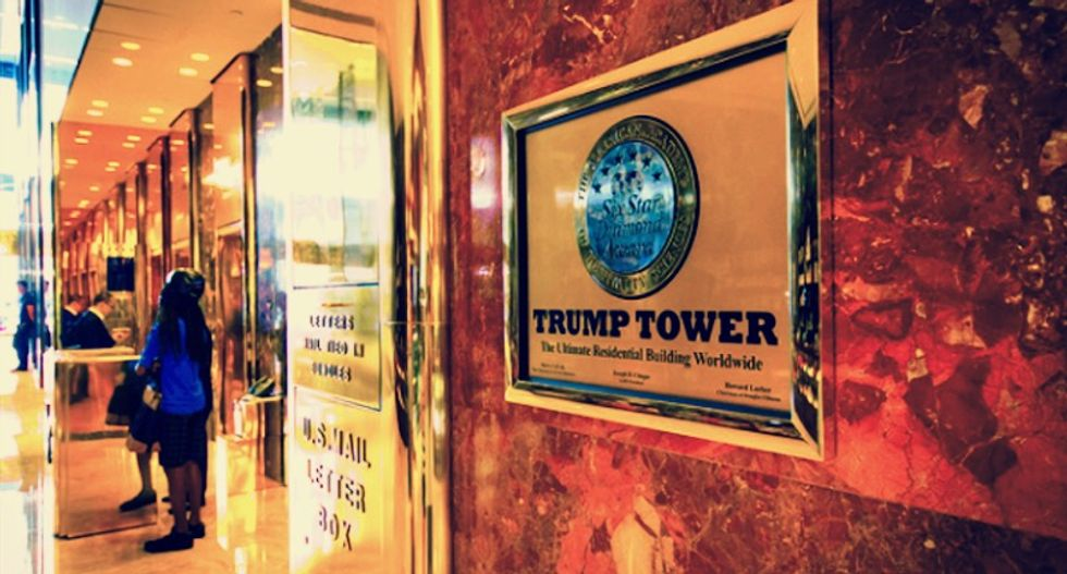 At New York's Trump Tower, condo prices have lost their glitter