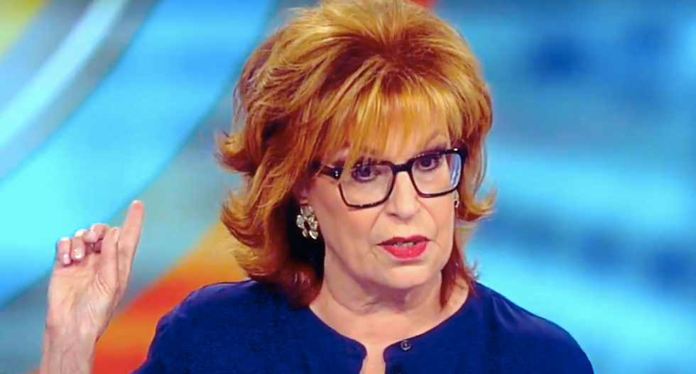 The View's Joy Behar sounds chilling alarm: 'Once you start calling people names — the murders can begin'