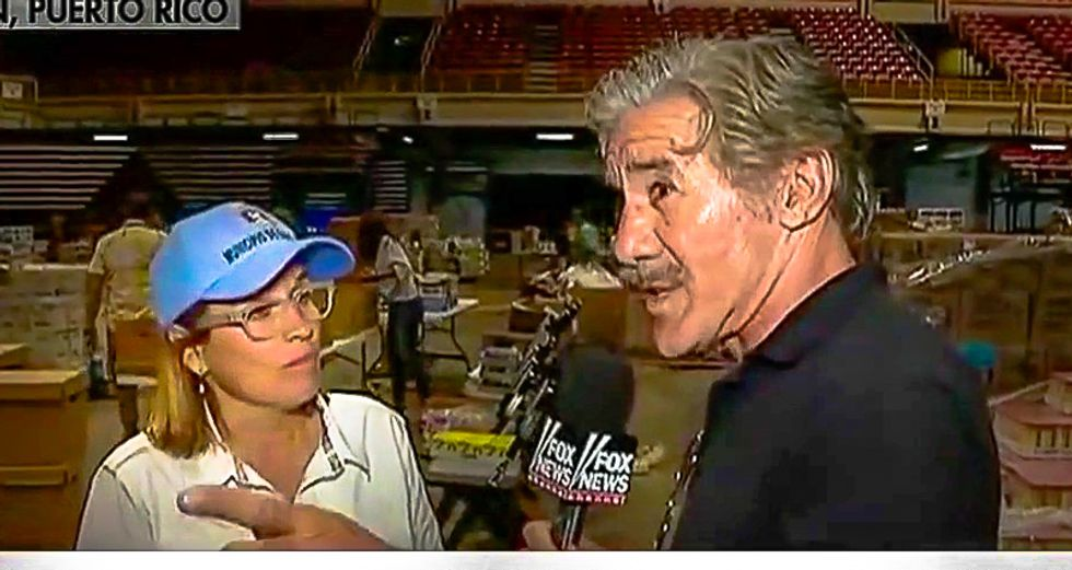 'I don't see people dying': Fox's Geraldo Rivera scoffs in the face of San Juan mayor to back up Trump