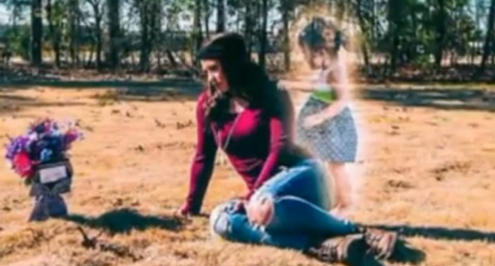 Photographer learns a horrifying secret after helping mom create images of dead toddler's 'ghost'