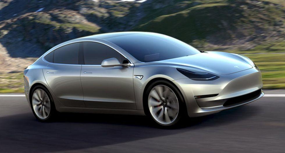 Tesla shares surge as Model 3 orders speed past estimates