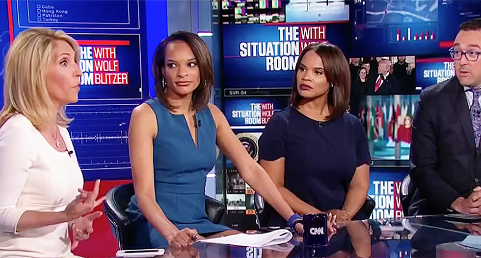 CNN panel mocks Trump's unhinged Fox & Friends interview: 'You could almost picture him red in the face'