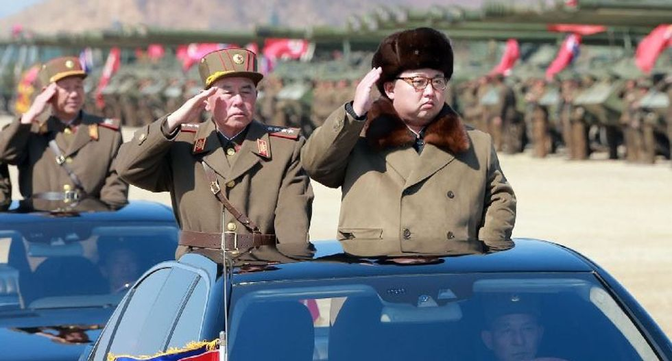 North Korea claims it is under a Leningrad-style siege from the US