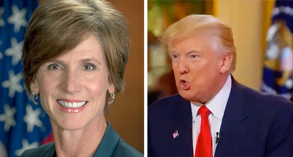 Sally Yates' warnings about Mike Flynn just took on a whole new significance